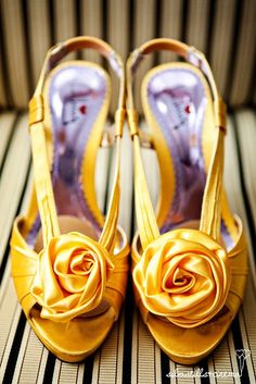 Awesome shoes for bridesmaids in our Beauty and the Beast theme