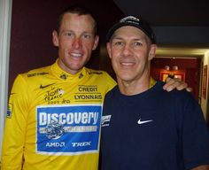 Lance Armstrong and Dr. Spencer