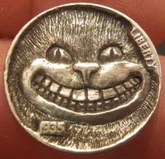 Cheshire #Cat: Why she simply said that you're a fat pompous bad tempered old tyrant! #HoboNickel Gordon Raistrick