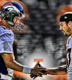 #18 Peyton Manning shacked #87 Eric Decker!