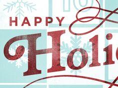 Happy Holidays by Dustin Borowski