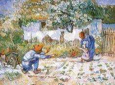 Vincent Van Gogh - Die ersten Schritte - jetzt bestellen auf kunst-fuer-alle.de