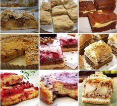 Množstvo skvelých receptov na sladké koláče, záviny a iné dobroty zo stránky NAJLEPŠIE pozbierané RECEPTY...
