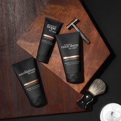 keep it simple with our new collection of multi-benefit skincare designed to meet the specific grooming needs of men. Guys Grooming, Shaving Cream, Men's Collection, Men's Style, Make It Simple, Philosophy, Sexy Men, Benefit, Skincare