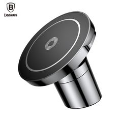 Fast Charging Phone Mount Compatible with Qi enabled iPhone X Xs Xr 8 Max 8Plus 7 6s SE Samsung Galaxy S9 S8 Edge S7 S6 Note8 9 Nokia Androids etc Air Vent Adjustable Holder AO Wireless Car Charger