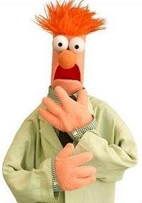 Beaker Beaker Muppets, Les Muppets, Jim Henson, Swedish Chef, Fraggle Rock, The Muppet Show, Muppet Babies, Miss Piggy, The Dark Crystal