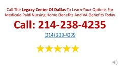 Here is where to find the best Dallas Elder Law attorney for Medicaid Planning. https://www.youtube.com/watch?v=fio_75ElBNc