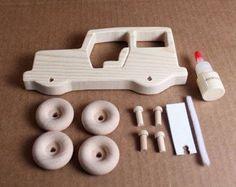 Hechos a mano Kit de Mini de madera modelo por mygrandpaswoodentoys