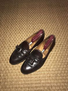 4a6c96fb7b2df Brooks Brothers Cordovan Loafer 10.5 D Brown Slip On Shoe Tassel  fashion   clothing