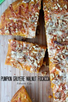 An Autumn twist on a classic Focaccia bread, using Pumpkin, Gruyere cheese, and chopped Walnuts! Sure to please every palate!...