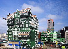 Verrückte Hotel Architektur