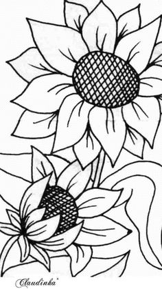 Stained Glass Patterns, Mosaic Patterns, Embroidery Patterns, Sunflower Quilts, Sunflower Pattern, Sunflower Template, Sunflower Stencil, Wood Burning Patterns, Wood Burning Art
