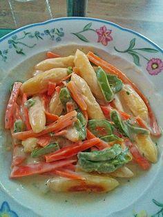 Schupfnudeln mit Gemüse, ein schönes Rezept aus der Kategorie Saucen. Bewertungen: 16. Durchschnitt: Ø 4,4.