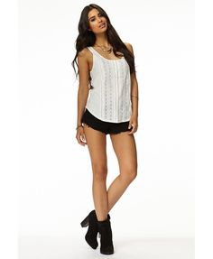 Pintucked Lace Vace £14.75