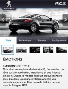 Peugeot App. 2 Platform: iphone