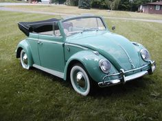 1961 VW Beattle Convertible - This is my Grandfather's car (only his was…