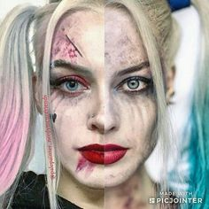 Harley Quinn Cosplay, Joker Cosplay, Tonya Harding, Arkham Asylum, Joker And Harley, Margot Robbie, Jared Leto, Halloween Face Makeup, Skating