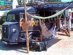 Mateloos markten: Ibiza´s happy hippiemarkt Las Dalias   Spanje