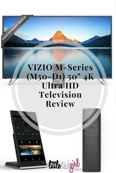 "VIZIO M-Series (M50-D1) 50"" 4K Ultra HD Television Review http://littletechgirl.com/2016/10/20/vizio-m-series-m50-d1-50-4k-ultra-hd-television-review/"