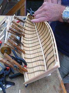 Scratch model making #boatbuilding
