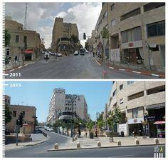 Shlomtsiyon HaMalka, Jerusalem, Israel  http://www.urb-i.com/