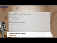 Eternal Flame - The Bangles Vocal Backing Track with chords and lyrics
