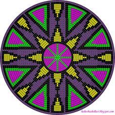 Dieses Muster habe ich mir mit dem Programm easybeadpatterns entworfen. Da ich ja eine Tasche häkeln möchte nach der Art der Wayuu mo...
