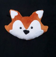 Hey, I found this really awesome Etsy listing at https://www.etsy.com/listing/483630505/fox-head-pillow-plush-toy-home-nursery