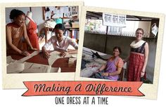Fashion a Better World...interested in helping women and children out of poverty and provide them a better life?? Stop by Vogal today for a unique dress, top, or skirt that is handmade using artistic traditions done by members of women's cooperatives in India and Nepal!