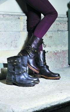 564bff573ba47 Boots avec semelles à crampons RIVER - Tendances hiver 2015 I Karston  Chaussures