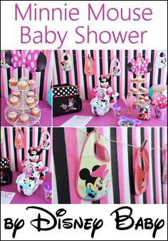 Minnie Mouse Baby Shower By Disney Baby