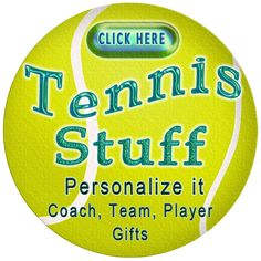 Tennis Gift Ideas for Players, Coaches and Tennis Lover Gifts. Cheap Tennis Gifts with many of them being Customizable. Highlight the temporary text located in the text boxes and Type in YOUR TEXT. Your Coaches and Team will love these tennis trinkets made just for them. Please come and visit our Tennis Online Shop: http://giftsforcreativepeople.com/Personalized-Tennis-Gifts-CLICK-HERE or see ALL of Little Linda Pinda Designs CLICK HERE: http://www.Zazzle.com/LittleLindaPinda*/