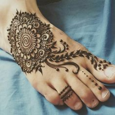 Image result for henna feet