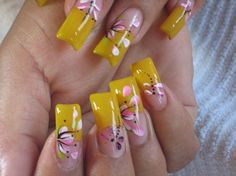 253 Best Acrylic Nails Images On Pinterest Cute Acrylic Nail