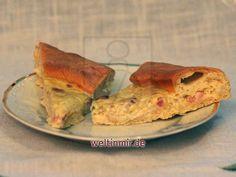 Hausgemachter französischer Zwiebelkuchen • Rezept | weltinmir.de