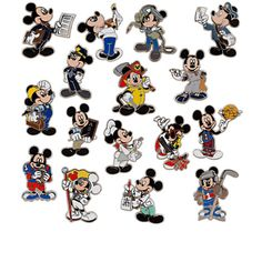 Professions Mickey Mouse Mystery Pin I am collecting this set Disney Gift, Disney Fun, Disney Magic, Disney Mickey, Disney Parks, Disney Stuff, Walt Disney, Disney Pins Sets, Disney Trading Pins