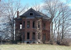 OH Ansonia - Abandoned House by scottamus on Flickr.