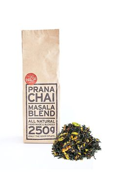 Prana Chai Masala Blend 250 g - All-Natural, no sugars, no syrups, no concentrates, no preservatives. Only The Good Stuff ** Read more at the image link. (This is an affiliate link) #ChaiTea