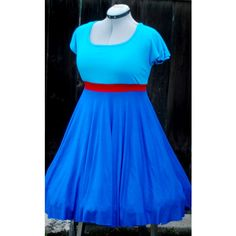 Genie Inspired Retro Dress Custom Made to Your Measurements Perfect... ($25) ❤ liked on Polyvore featuring dresses, teal, women's clothing, blue sleeve dress, blue slip dress, teal dress, blue retro dress and teal blue dresses