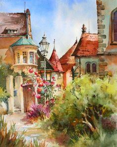 Brenda Swenson     Watercolor