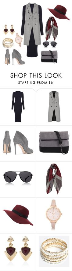 Untitled #293 by chilosa3325 on Polyvore featuring Warehouse, rag & bone, Gianvito Rossi, 7 Chi, River Island, White House Black Market, ZooShoo and The Row