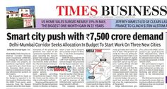 Smart City Push with Rs.7500 crore demand
