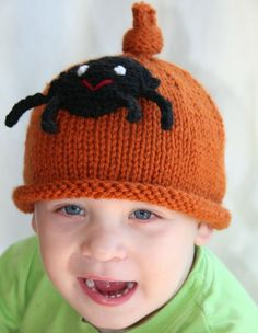 66779498845 baby girl knit hat with pretty daisy petaled by SarahLamont