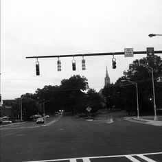 I've always been drawn to this intersection… // {the five senses} in the Queen City #5senses #sight #dilworth #clt #charlotte  (Taken with Instagram)