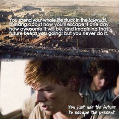 Quote is from Looking for Alaska by John Green | The Maze Runner