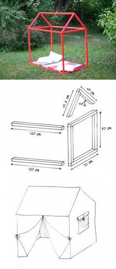 Education Joyeuse*: Fabriquer une cabane en bois