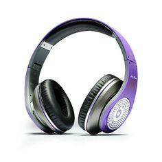 Beats By Dr Dre Purple Diamond Studio Justin Bieber Headphones