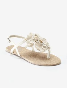 Wedding sandal? Maybe.