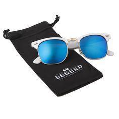 8c041581396 Unisex Retro Rewind Classic Polarized Wayfarer Sunglasses Men or Women -  Green - CV12K9BSR0V