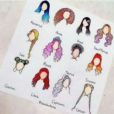 My Zodiac is Sagittarius !The hair for my zodiac is soo cool and my sign makes me feel fierce! Fashion Sketches, Art Sketches, Arte Fashion, Zodiac Posts, Zodiac Art, Astrology Zodiac, How To Draw Hair, Cute Drawings, Love Drawings Couple